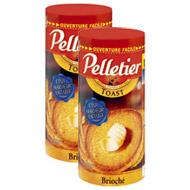 Toasts briochés ,PELLETIER,lot de 2x