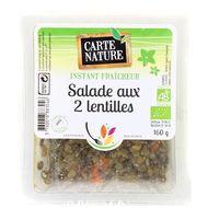 3760018883046 - Carte Nature - Salade aux 2 lentilles, Bio
