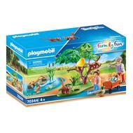 4008789703446 - PLAYMOBIL® Family Fun - Panda roux avec enfants