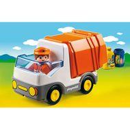 4008789067746 - PLAYMOBIL® 1.2.3 - Camion poubelle