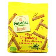 3380380068546 - Priméal - Mini Crackers Bio à l'huile d'olive et Romarin
