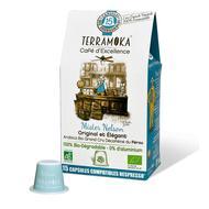3760264900047 - Terramoka - Café capsule bio Nelson Décaféiné biodégradable sans aluminium