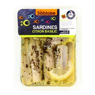 3375160000847 - La Sablaise - Sardines filets au citron et au basilic