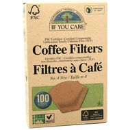 0770009001147 - If You Care - Filtres à café compostables taille N°4