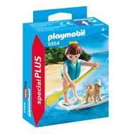 4008789093547 - PLAYMOBIL® Spécial Plus - Sportive avec paddle