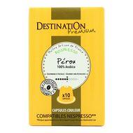 3700110016447 - Destination - Café bio Perou espresso N°6