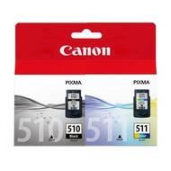 8714574577647 - Canon - Cartouche d'encre PG 510 + CL 511
