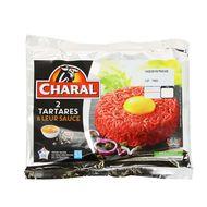 3181232220248 - Charal - Steak haché tartare 5%Mat.gr+70 gr de sauce