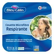 3153633460448 - Bleu calin - Couette légère anti transpiration TOPCOOL