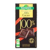 3396411221248 - Bonneterre - Chocolat noir bio 100% cacao