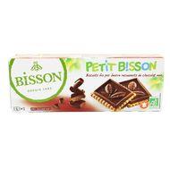 3760005001248 - Bisson - Biscuit pur beurre nappé chocolat noir, Bio