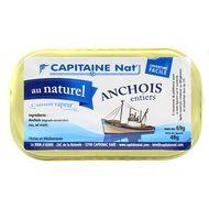 3522920003048 - Capitaine Nat - Anchois entiers au naturel