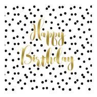 4021766225748 - Paperproducts Design - Serviettes en papier Happy Birthday 33x33cm