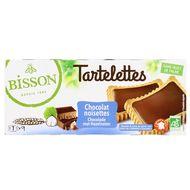 3380380087448 - Bisson - Tartelette chocolat noisette bio