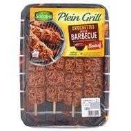 3039050351449 - Socopa - 4 Brochettes boeuf saveur barbecue