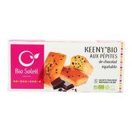 3423720002449 - Bio Soleil - Keeny, Moelleux bio pépites de chocolat équitable