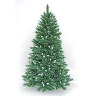 3602904445849 - Cora - Sapin artificiel 492 branches avec pointes blanches