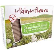 3380380047749 - Le pain des fleurs - Tartines craquantes au sarrasin, sans gluten, Bio