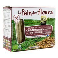 3380380080050 - Le pain des fleurs - Tartines bio craquantes au pois chiche