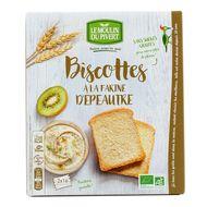 3268350120350 - Le Moulin Du Pivert - Biscottes bio à la farine d'Epeautre