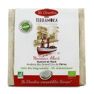 3760264901150 - Terramoka - Café bio Pérou type Senseo Mr Albert