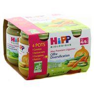 4062300201750 - Hipp - Offre Diversification Mes Premiers Légumes Bio dès 4/6 mois