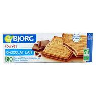 Bjorg - Fourrés chocolat au lait, bio