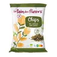 3380380093050 - Le pain des fleurs - Chips aux lentilles vertes bio