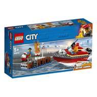 5702016369250 - LEGO® City - 60213- L'incendie sur le quai