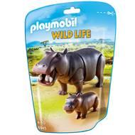 4008789069450 - PLAYMOBIL® Wild Life - Hippopotame et son petit