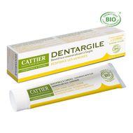 3283950040051 - Cattier - Dentifrice en tube Citron Cosmébio