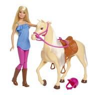 0887961691351 - Mattel - Barbie et son cheval