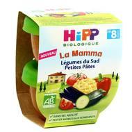 4062300271951 - Hipp - Légumes du Sud Petites Pâtes bio dès 8 mois
