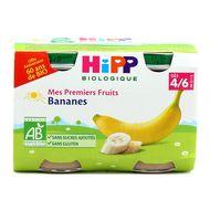 4062300284951 - Hipp - Bananes bio dès 4/6 mois