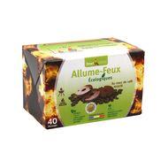 3770004706051 - Smart & green - Allume-feux écologiques au marc de café recyclé petit format