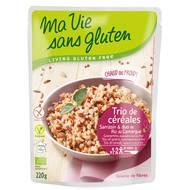 3380380076251 - Ma Vie Sans Gluten - Trio de céréales bio sarrazin et duo de riz de Camargue, sans gluten