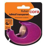 3257984097251 - Cora - Devidoir ruban adhésif transparent
