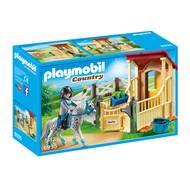 4008789069351 - PLAYMOBIL® Country - Box avec cavalière et cheval Appaloosa
