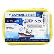 3522920001952 - Capitaine Nat - Filets de sardines au naturel