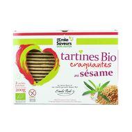 3291960012852 - L'Emile Saveur - Tartine Bio au sésame sans gluten