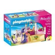 4008789068552 - PLAYMOBIL® Princess - Ecurie avec cheval à coiffer et princesse