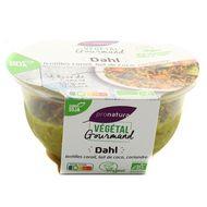 3760099539252 - Végétal Gourmand - Dahl de lentilles corail bio, au lait de coco et coriandre