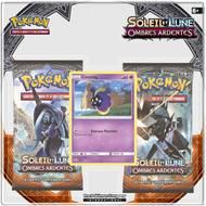 0820650209352 - Asmodée - Pack 2 boosters Pokémon Soleil et Lune S3 Ombres ardentes