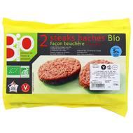 3423310000053 - Puigrenier - Steak haché 5% mat.gr Bio