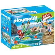 4008789700353 - PLAYMOBIL® Family Fun - Starter Pack- Sportifs et kayak