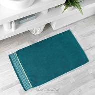 3574388012353 - Douceur D Interieur - Tapis de bain Belina Bleu