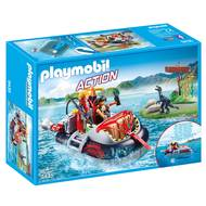 4008789094353 - PLAYMOBIL® Sport & Action - Aéroglisseur avec moteur submersible