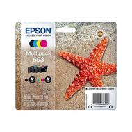 8715946668253 - Epson - Cartouches d'encre multipak noire et couleurs - Etoile de mer 603