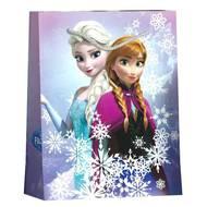 3701037600054 - Reine Des Neiges - Sac cadeau format CD/DVD avec cordelettes