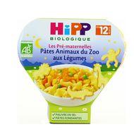 4062300260054 - Hipp - Pâtes Animaux du Zoo aux Légumes bio dès 12 mois